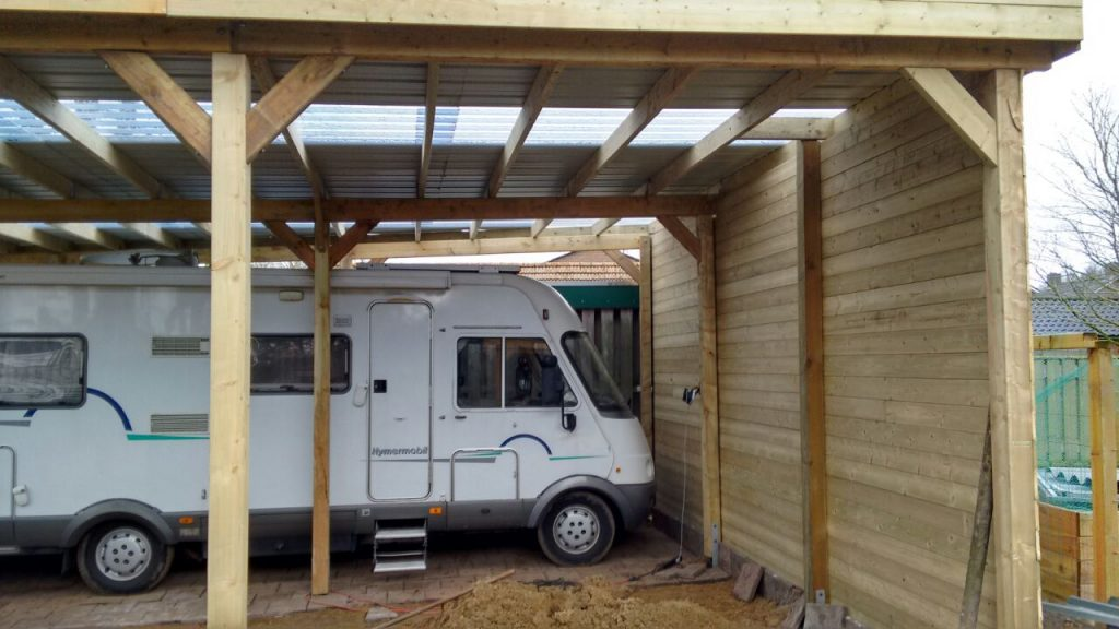 camper carport