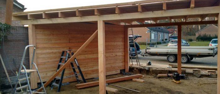 zelf terrasoverkapping maken met een bouwpakket