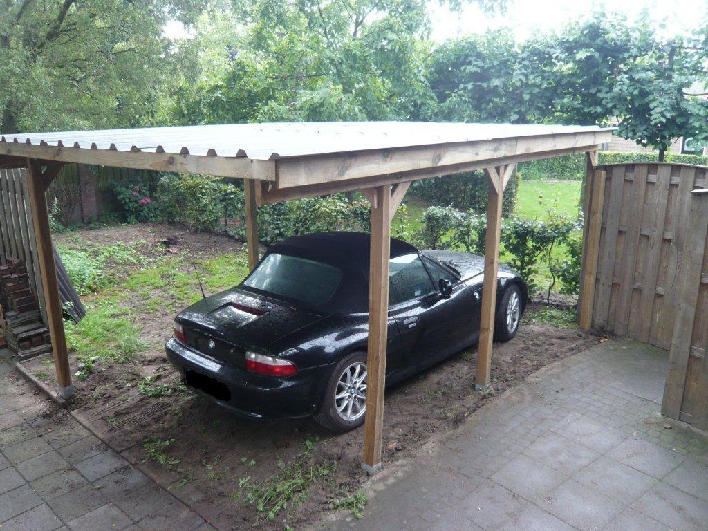 carport-damwand-1 - Goedkope Carports
